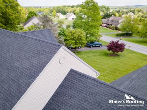 roof done by local roofing company serving chester county