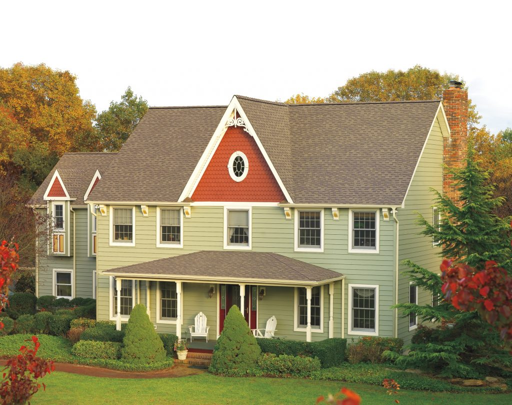 roof for traditional colonial design home