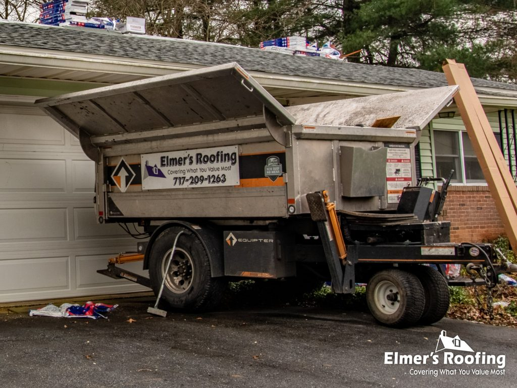 elmer's roofing, roofing buggy