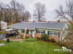 amish residential roof replacement in lancaster