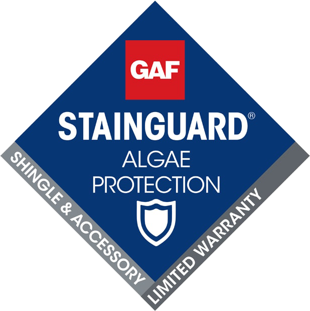 certified roofer, residential roofer offering stainguard technology
