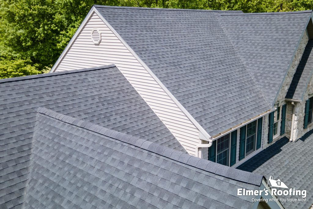 residential roofing company with singled rood