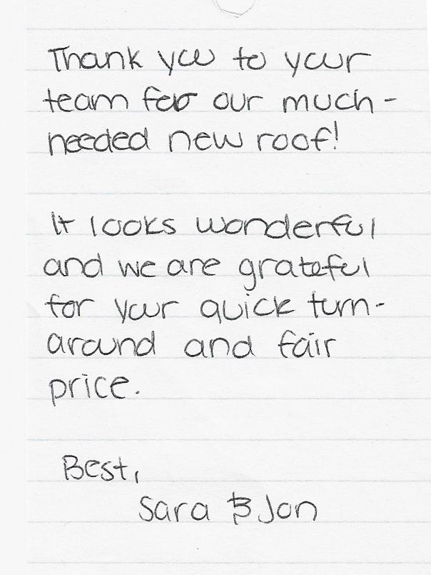 handwritten review good