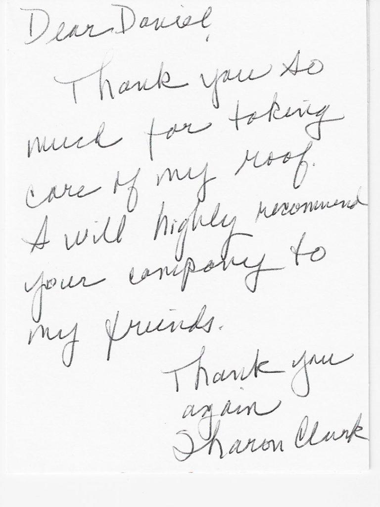 handwritten review great